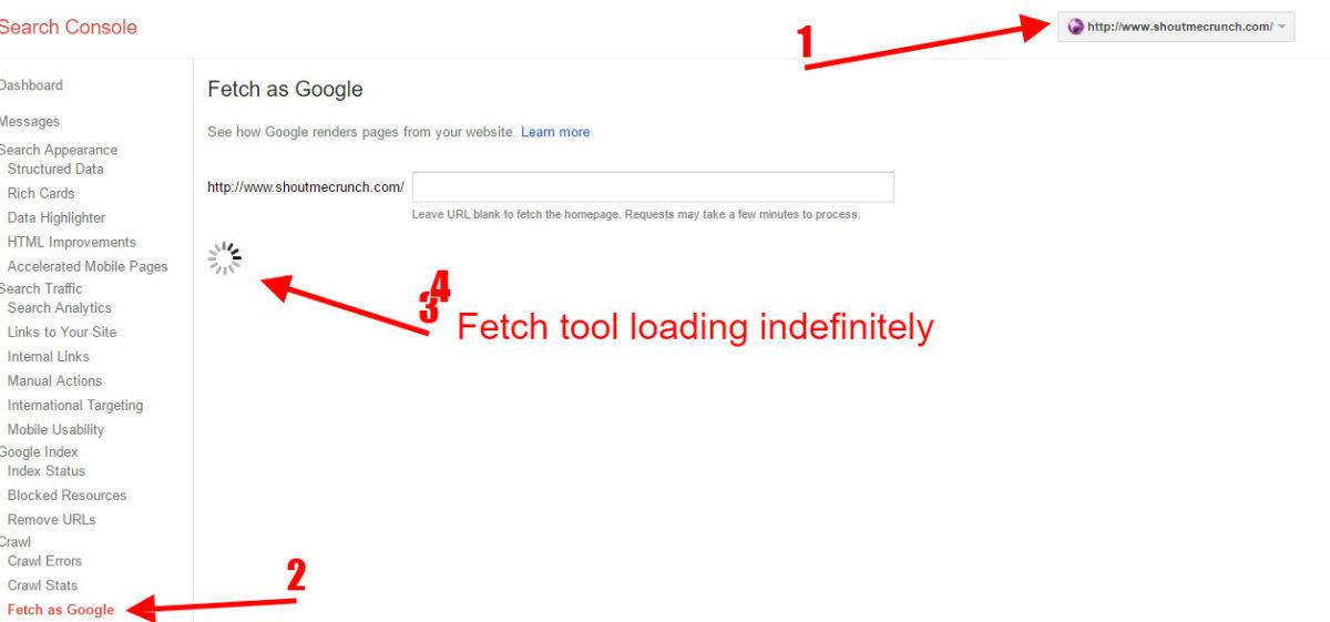 Fetch-as-Google-Not-Working