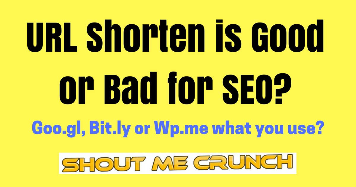 URL Shorten is Good or Bad for SEO