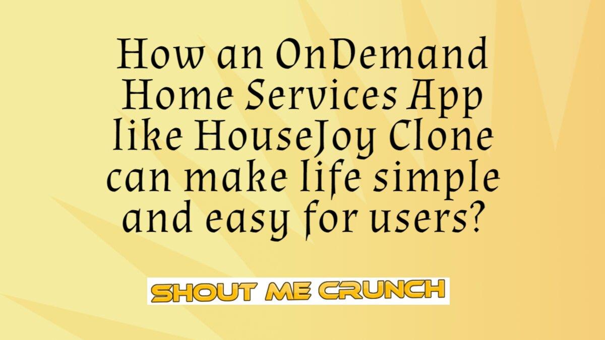 HouseJoy Clone